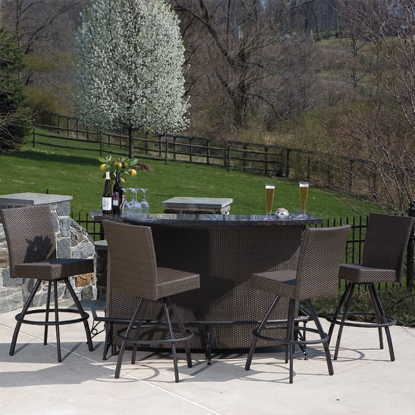 Simply the best in outdoor bars and bar stools alfresco home