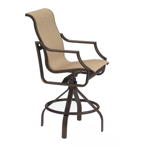 Tropitone Outdoor Bar Stools Take Upscale Outdoor Entertaining To A Whole  New Level