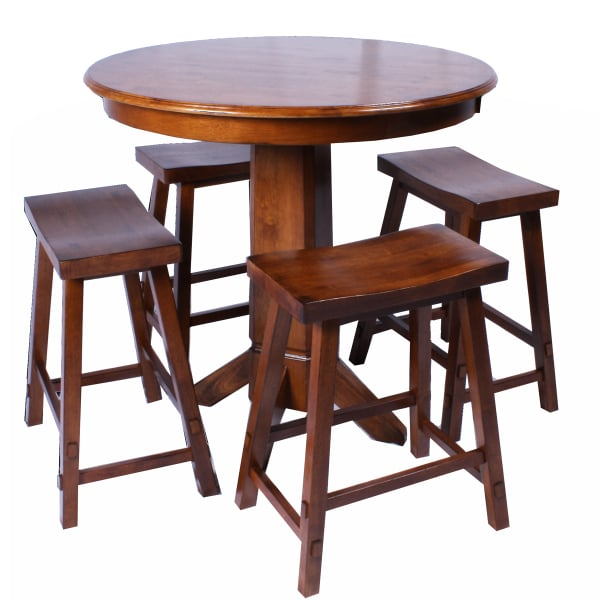 Creations Counter Height Pub Set