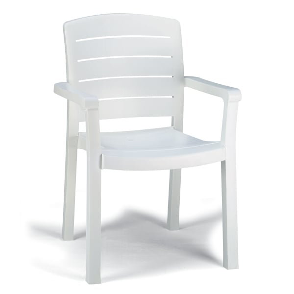 A Stackable U0026 Easy To Move Commercial Patio Armchair With Simple Designs ...