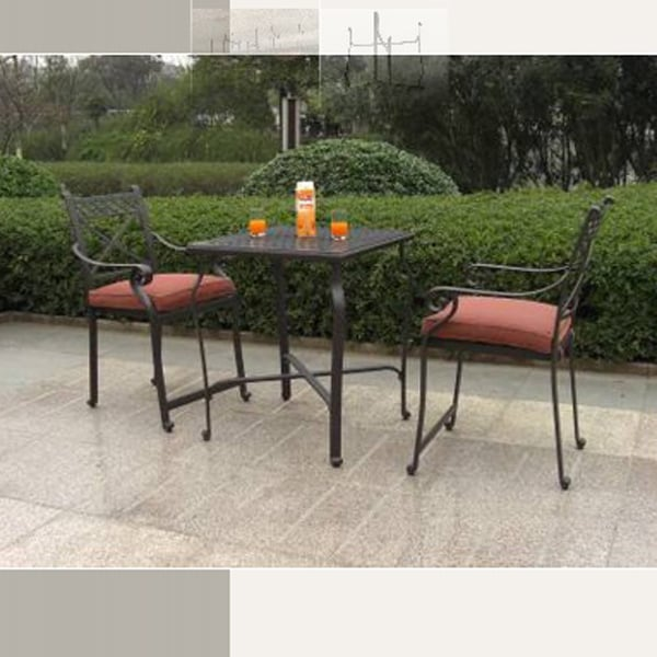 Cambridge 3 Piece Outdoor Counter Height Patio Set Leisure Select
