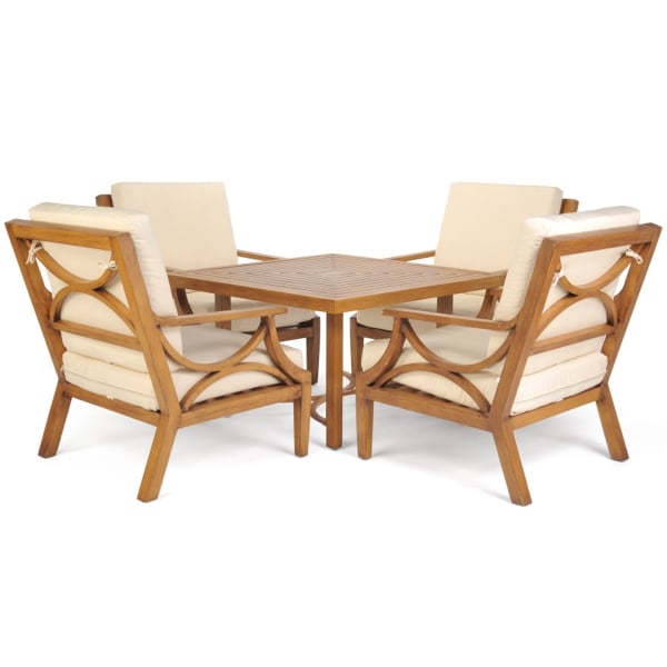 patio chat set featuring art deco modern mission style designs materials art deco outdoor furniture