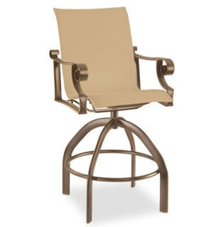 Pasadena Sling Bar Stool By Homecrest Outdoor Living