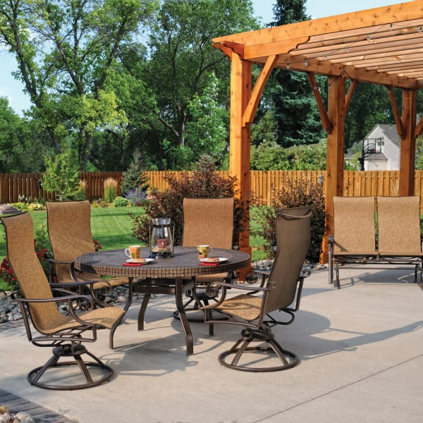 Pasadena sling by homecrest outdoor living for Pasadena outdoor furniture