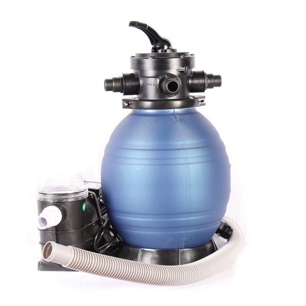12 pool sand filter system for Filtersand pool obi