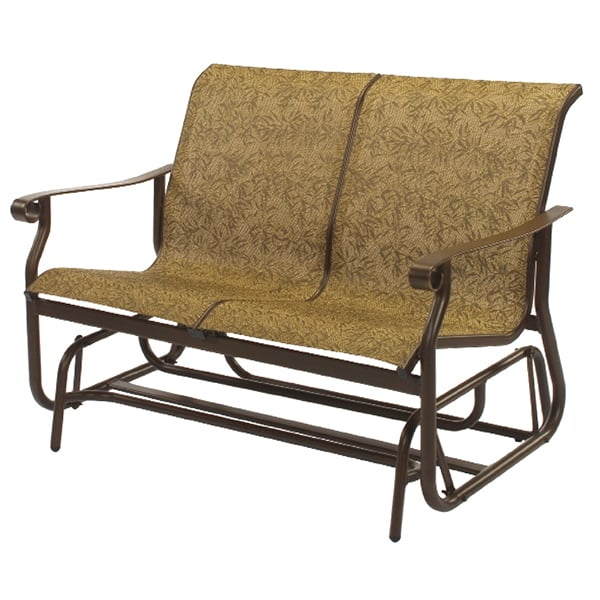 St Croix Sling Loveseat Glider by Windward Design Group