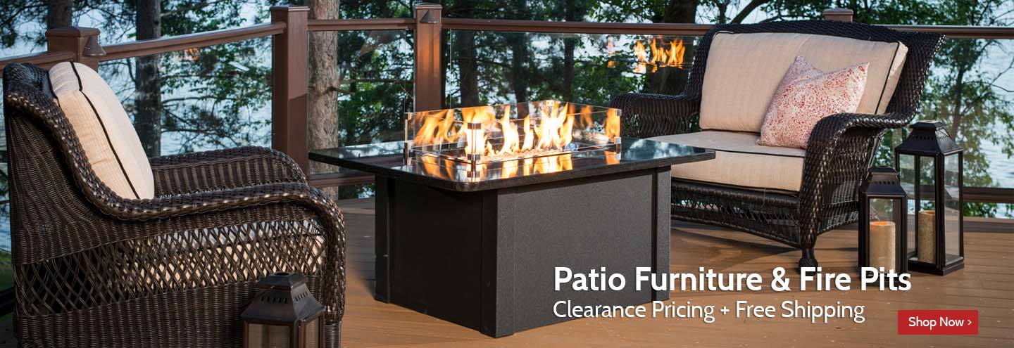 Clearance Patio Furniture & Fire Pits