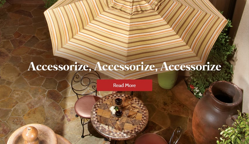 Accessorizing Your Patio