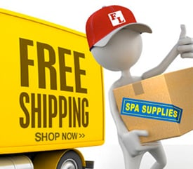 Free Shipping on Spa Supplies