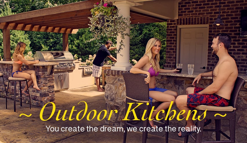 Outdoor Kitchen Rooms Family Leisure
