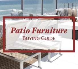 Patio Furniture Buying Guide