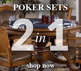 2 in 1 Poker Game Tables