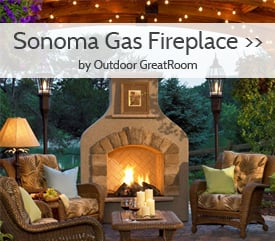 Sonoma Gas Fireplace