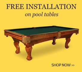 Free Pool Table Installation