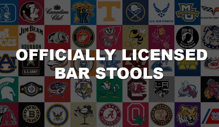 Officially Licensed Bar Stools