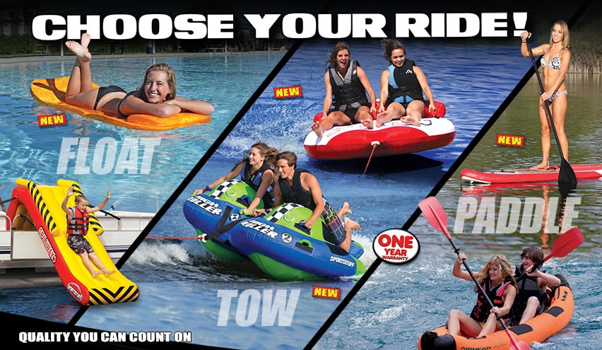 water sports towables