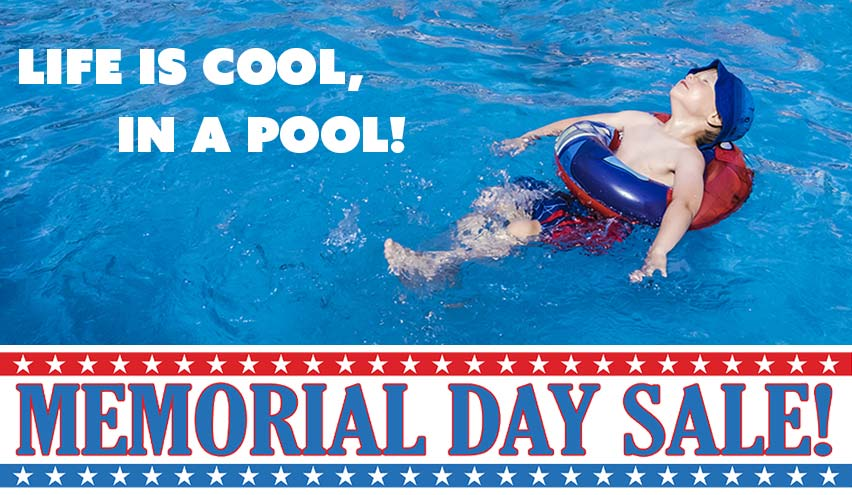 Memorial Day Above Ground Pool Sale