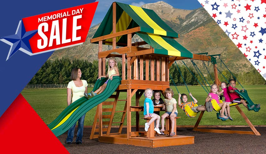 Memorial Day Sale Play Gyms