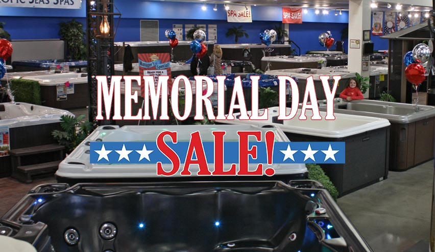 Memorial Day Spa Sale