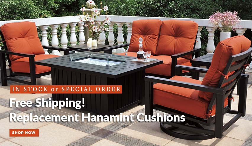 Hanamint Replacement Cushions