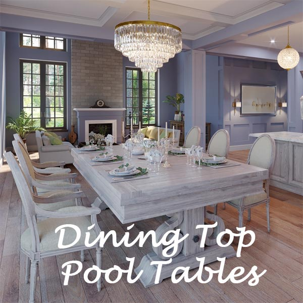 Pool Tables With Dining Tops