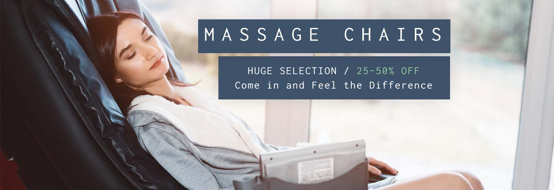 Massage Chairs - 35% Off