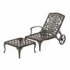 2 Piece Chaise Ottoman Cushion