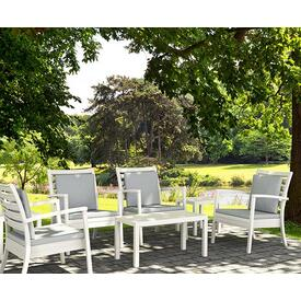 Artemis XL Deep Seating - White by Siesta Exclusive