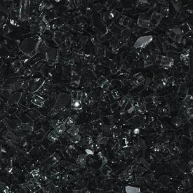 "1/4"" Black Fire Glass by Leisure Select"