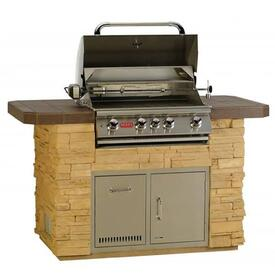 Master-Q Grill Island - Stone by Bull Grills
