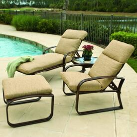 Cayman Isle Cushion Deep Seating by Woodard