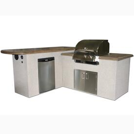 St. Anthony Outdoor Kitchen by Outdoor GreatRoom