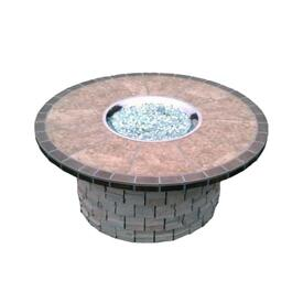Southwest Blend Stone Fire Pit by Leisure Select