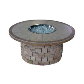 Mohave Stone Fire Pit by Leisure Select