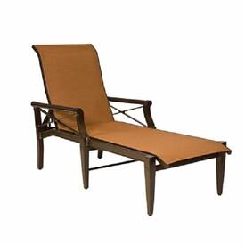 Andover Sling Chaise Lounge by Woodard