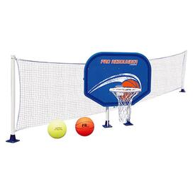 Basketball/Volleyball Combo Game Set by Poolmaster