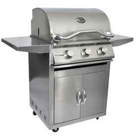 3 Burner Grill and Cart by Titan Grills