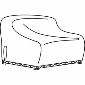 X-Large Loveseat & Corner Sectional Cover by Treasure Garden