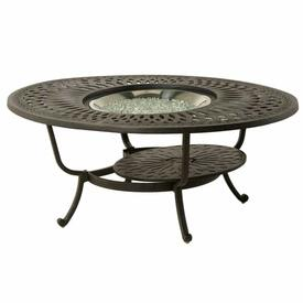"Mayfair 52"" Oval Gas Fire Pit Table by Hanamint"