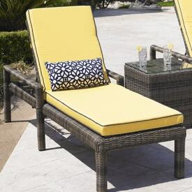 Bainbridge Single Adjustable Chaise Lounge by North Cape