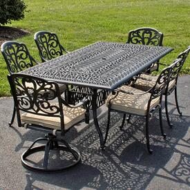 Full Dining Set Designed for Comfortable & Affordable Outdoor Lounging