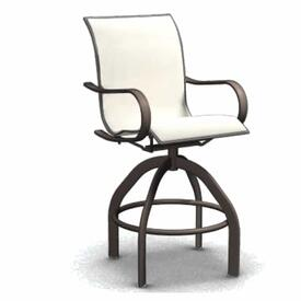 Holly Hill Swivel Bar Stool by Homecrest