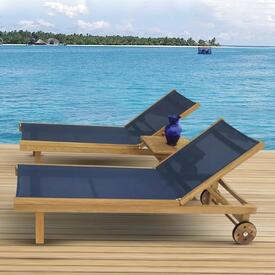 SunDaze Chaise Lounge by Royal Teak Collection