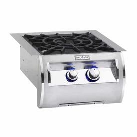 Echelon Diamond Style Side Burner - Porcelain Grid by Fire Magic Grills
