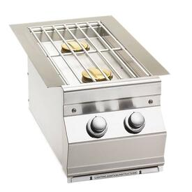 Built-In Double Side Burner by Fire Magic Grills