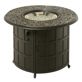 Tuscany Enclosed Fire Pit by Hanamint