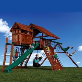 Titan Peak 3 Play Set by Backyard Adventures