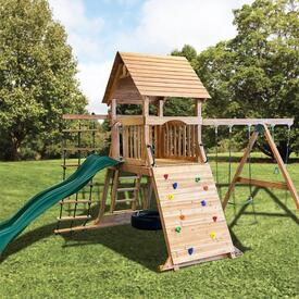 Crown Jewel Play Set by Backyard Adventures