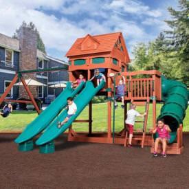 Olympian Treehouse 6 Play Set by Backyard Adventures