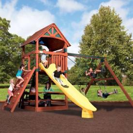 Olympian Treehouse 4 by Backyard Adventures
